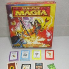 Juegos Antiguos: MAGIA, SUPLEMENTO WARHAMMER EL JUEGO DE LAS BATALLAS FANTÁSTICAS. Lote 289359913