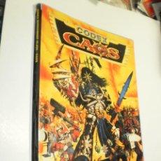 Juegos Antiguos: WARHAMMER 40.000. CODEX CAOS. SUPLEMENTO GAMES WORKSHOP 1996 (ESTADO NORMAL, LEER). Lote 289764958