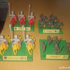 Juegos Antiguos: BATTLE MASTERS MB 1992 LOTE DE FIGURAS CON PEANAS. Lote 293789943