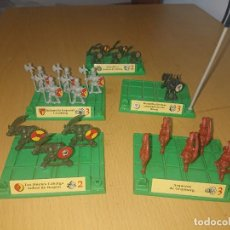 Juegos Antiguos: BATTLE MASTERS MB 1992 LOTE DE FIGURAS CON PEANAS. Lote 293790938