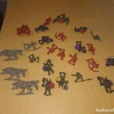 Juegos Antiguos: BATTLE MASTERS MB 1992 LOTE DE FIGURAS. Lote 293792358