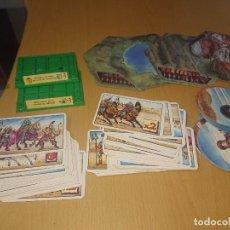 Juegos Antiguos: BATTLE MASTERS MB 1992 LOTE DE CARTAS FICHAS ETC. Lote 293796468