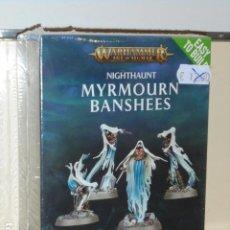 Juegos Antiguos: WARHAMMER AGE OF SIGMAR NIGHTHAUNT MYRMOURN BANSHEES - GAMES WORKSHOP OFERTA. Lote 293955858