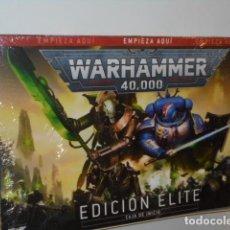 Juegos Antiguos: WARHAMMER 40,000 EDICION ELITE CAJA DE INICIO - GAMES WORKSHOP OFERTA. Lote 293956423