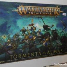 Juegos Antiguos: WARHAMMER AGE OF SIGMAR TORMENTA DE ALMAS - GAMES WORKSHOP OFERTA. Lote 293956628