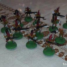 Juegos Antiguos: LOTE 25 FIGURAS WARHAMMER ELDARS DE PLASTICO. Lote 294447998