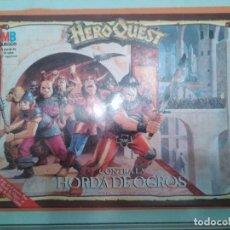 Juegos Antiguos: CAJA VACIA DE CONTRA LA HORDA DE OGROS - HERO QUEST HEROQUEST. Lote 295878583