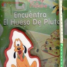 Giochi antichi: JUEGO DISNEY ENCUENTRA EL HUESO DE PLUTO MB JUEGOS A ESTRENAR AÑO 1992*. Lote 236701415