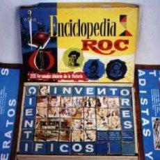 Juegos antiguos: ROMPECABEZAS DE CUBOS ENCICLOPEDIA ROC. Lote 26971477