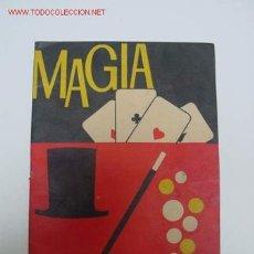 Juegos antiguos: JUEGO DE MAGIA BORRAS INSTRUCCIONES. Lote 27548597
