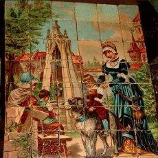Juegos antiguos: JUEGO DE CUBOS DE MADERA EN PAPEL LITOGRAFIADO SIGLO XIX ALEMANIA - RARISIMO Y PRECIOSO -. Lote 26892030