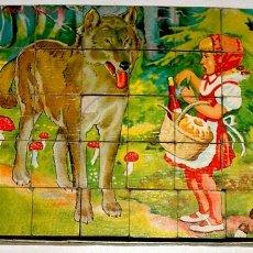Juegos antiguos: ANTIGUO ROMPECABEZAS DE CUBOS ALEMAN CON 30 CUBOS . Lote 27526244