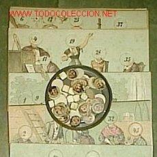Juegos antiguos: JUEGO FINALES XIX PRINCIPIOS SIGLO XX ? ( 11 CARTONES + 59 CARAS + 8 DADOS ) / DIBUJOS DE W. SHÄFER. Lote 25894910