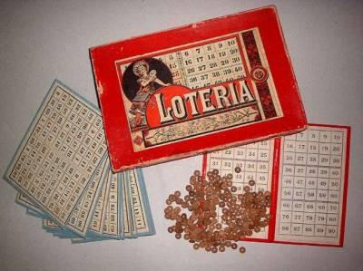 Juego Loteria Del 1900 Comprar Juegos Antiguos Variados En