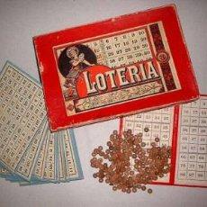 Juegos antiguos: JUEGO LOTERIA DEL 1900. Lote 10090350
