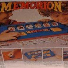 Juegos antiguos: JUEGOS MEMORION DE CONGOST EN CAJA. CC. Lote 16768259