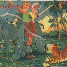 Juegos antiguos: TRES ROMPECABEZAS DE MADERA AÑOS 50'S. Lote 26603088