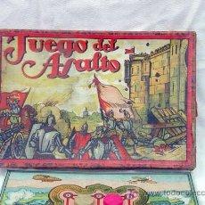 Juegos antiguos: JUEGO DEL ASALTO BORRÁS AÑOS 40 FICHAS DE MADERA. Lote 3153039
