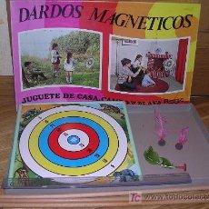 Juegos antiguos: JUEGO DARDOS MAGNETICOS. AÑOS 60/70 (GRAN FORMATO!!). Lote 23633507