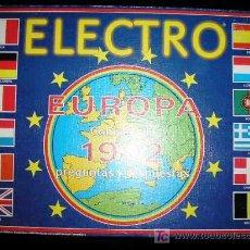 Juegos antiguos: ELECTRO EUROPA DE JUMBO (EL MEJOR REGALO PARA TUS HIJOS). Lote 26789459