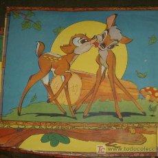 Juegos antiguos: JUEGO DE CUBOS DE BAMBI,AÑOS 30 Ó 40,CAJA ORIGINAL. Lote 21288271