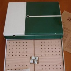 Juegos antiguos: BACKGAMON DE MADERA. Lote 22739675