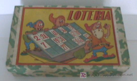 (A) ANTIGUO JUEGOS DE LOTERIA NUEVO (Juguetes - Juegos - Otros)