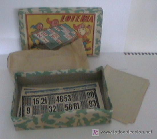 Juegos antiguos: (A) ANTIGUO JUEGOS DE LOTERIA NUEVO - Foto 2 - 5337348