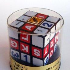 Juegos antiguos: CUBO DE RUBIK CALENDARIO (RUBIK'S KALENDER CUBE) ORIGINAL DE 1980. ALEMÁN. PRECINTADO!!. Lote 27241322