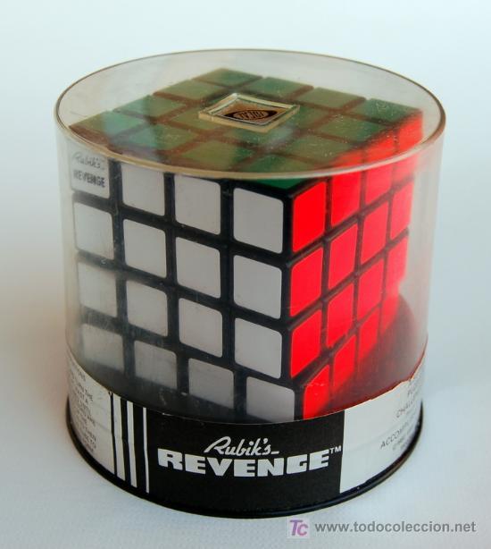 CUBO DE RUBIK REVENGE (RUBIK'S CUBE) ORIGINAL DE 1982. 4X4X4. PRECINTADO!! (Juguetes - Juegos - Otros)