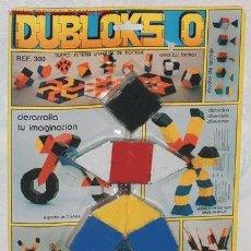 Juegos antiguos: JUEGO DUBLOCKS DE LEMANOS - AÑOS 70 - V I B. Lote 25362665