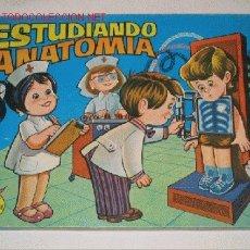 Juegos antiguos: ESTUDIANDO ANATOMÍA. JUGUETE ELECTRÓNICO DE PSE. REF. 1011 VISTA-OIDO. Lote 26971478