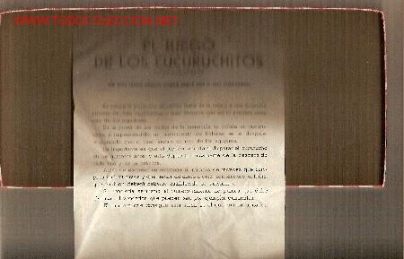 Juegos antiguos: El juego de los cucuruchitos. BCN : Ed. Selva, (años 30) - Foto 4 - 26096714