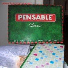 Juegos antiguos: PENSABLE CLASIC DE FALOMIR JUEGOS. Lote 27322790