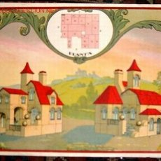 Juegos antiguos: LAMINA DE ARQUITECTURA ANTIGUA BORRAS- V I B. Lote 25840002
