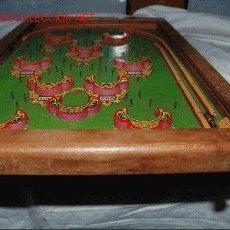 Juegos antiguos: ANTIGÚO JUEGO DE MADERA BILLAR FAMLIAR. Lote 8931569