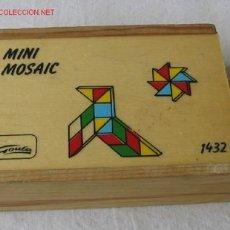 Juegos antiguos: JUEGO .. MINI MOSAIC GOULA .. DE MADERA . Lote 26238574