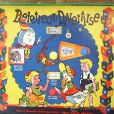 Juegos antiguos: DELETREAR Y DIVERTIRSE-CON CAJA ORIGINAL BIEN CONSERVADA-CASA NEMROD--AÑOS 50. Lote 22582729