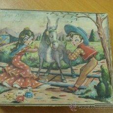 Juegos antiguos: ROMPECABEZAS DE LOS AÑOS 50. COMPLETO CAJA CON 30 CUBOS. Lote 18734864