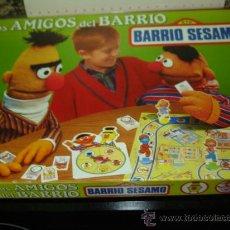 Juegos antiguos: ANTIGUO JUEGO BARRIO SESAMO JUEGO AÑO 1987- JUEGO DE EDUCA. Lote 20934828
