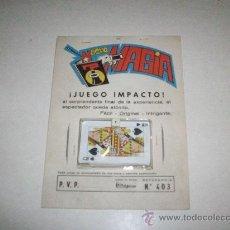 Juegos antiguos: JUEGO DE MAGIA ¡JUEGO IMPACTO¡. Lote 26953598