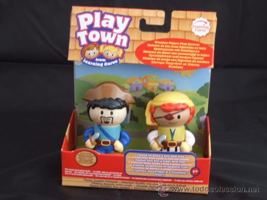 Be No Capitan De Play Town Personajes Madera En Venta Vendido El PkOXiuTZ