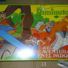 Juegos antiguos: JUEGO DIDACTA DE LOS DIMINUTOS AVENTURA EN EL PARQUE AÑOS 80 NUEVO NUNCA JUGADO. Lote 25859296