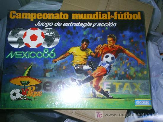 JUEGO DIDACTA DEL MUNDIAL DE MEXICO 86 CAMPEONATO MUNDIAL DE FUTBOL NUEVO NUNCA JUGADO (Juguetes - Juegos - Otros)