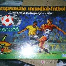 Juegos antiguos: JUEGO DIDACTA DEL MUNDIAL DE MEXICO 86 CAMPEONATO MUNDIAL DE FUTBOL NUEVO NUNCA JUGADO. Lote 25859302