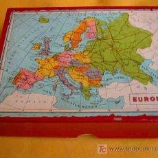 Juegos antiguos: ROMPECABEZAS DE CUBOS - EUROPA. APROX 1950. Lote 27226242