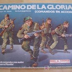 Juegos antiguos: JUEGO WARGAME NAC - CAMINO DE LA GLORIA: COMANDOS EN ACCIÓN - 1985 - VER DESCRIPCIÓN. Lote 57205873