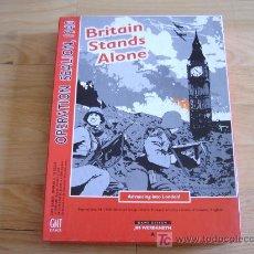 Juegos antiguos: JUEGO BRITAIN STANDS ALONE (GMT, 1994) COMPLETO -WARGAME- VER DESCRIPCIÓN Y FOTOS!. Lote 26278315