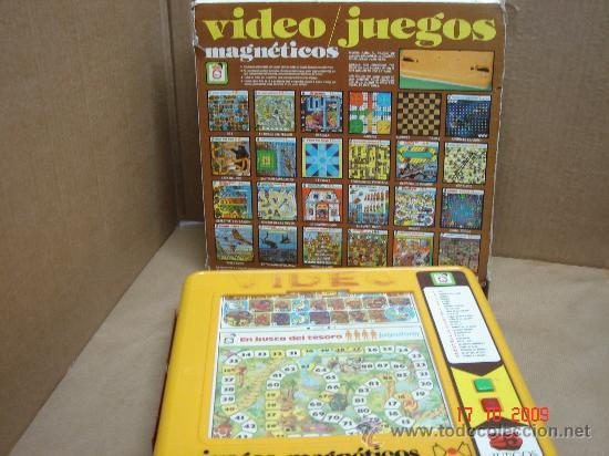 25 Videojuegos Magneticos Marca Chico Made I Comprar Juegos