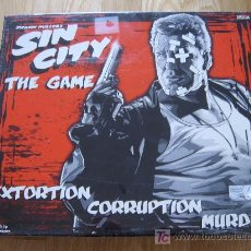 Juegos antiguos: JUEGO DE MESA SIN CITY THE GAME - NECA 2005 - TEMÁTICO FRANK MILLER - PRECINTADO. Lote 26278316